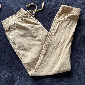 "Gap Mens Khaki Size Medium Fits Waist 32""- 34"""
